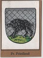 Sammelbild Preussisch Friedland Debrzno Kurmark Wappenschau Wappen Schau Serie 2 Bild 13 Garbaty Zigarettenfabrik Berlin - Cigarette Cards