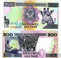TANZANIA 500 SHILINGI 1997 UNCIRCULATED P-30 - Tanzania