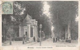 CPA Brunoy - Avenue Charles Cristofle - Brunoy