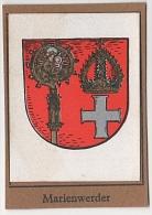 Sammelbild Marienwerder Kwidzyn Kurmark Wappenschau Wappen Schau Serie 2 Bild 3 Garbaty Zigarettenfabrik Berlin - Zigaretten