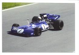 Jackie Stewart  -  Tyrrell 003 F1   -    Carte Postale - Grand Prix / F1