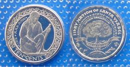 USA SANTA ISABEL 10 CENT 2012 ARCIPELAGO ISOLE SALOMONE RISERVA INDIANA CONSERVAZIONE FDS SIGILLATA - Stati Uniti
