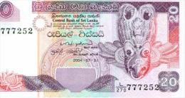20 Rupees 2004 NEUF - Sri Lanka