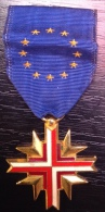 Medal NATO - La Medaille OTAN - Confederation Europeenne - Médailles & Décorations