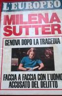 EUROPEO N.22 3/6/71 VESPA/IL CASO M. SUTTER/ E SEGAL/TERMINI IMERESE STABILIMENTO FIAT - Libri, Riviste, Fumetti