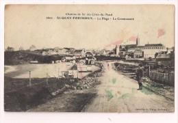 ** 22 - SAINT-QUAY-PORTRIEUX: La Plage - La Communauté - Edité Par La Cie Des Chemins De Fer Des Côtes Du Nord - - Saint-Quay-Portrieux