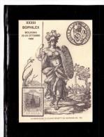 7814   -    BOLOGNA 22.10.1988        /      XXXIII BOPHILEX - Monete (rappresentazioni)