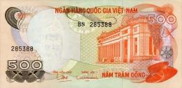 Vietnam South 500 Dong 1970 Pick 28 XF - Viêt-Nam