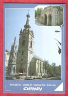 CHIMAY -Un Bonjour De Chimay-  Collégiale - Chimay