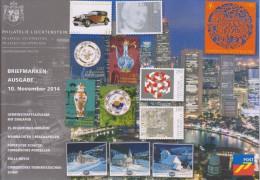 Liechtenstein Brochure 2014 November - Chinese Porcelain - Rolls-Royce - Lunar New Year - Christmas: Chapels - Liechtenstein
