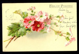 Frohliche Pfingsten! / Year 1900 / Old Postcard Circulated - Felicitaciones (Fiestas)