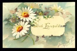Hoch Leopoldine ! / Old Postcard Circulated - Felicitaciones (Fiestas)
