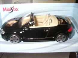 31-57. Coche Escala 1/43. Audi TT. Roadster. Maisto - Maisto
