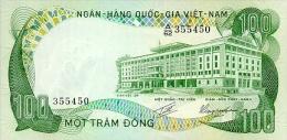 Vietnam South 100 Dong 1972 Pick 31 AUNC - Vietnam