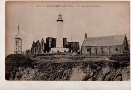 Pointe De St Mathieu Vue D Ensemble Des Ruines - Francia