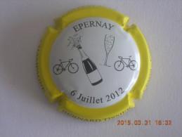 Capsule Champagne Tissier Bernard, Tour De France 2012, N° 11 - Unclassified