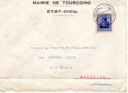 1918 Van Tourcoing Naar Kortrijk - Other