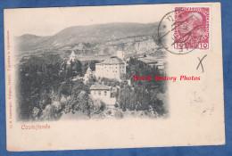 CPA Nuage - CASTELFONDO - 1911 - Top RARE - Foto G. B. Unterveger , TRENTO - Prés Salobbi Dovena - Italia