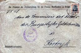 1918 Van Brugge Naar Kortrijk - Other