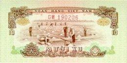 Vietnam South 10 Xu 1972 Pick 37 UNC - Vietnam
