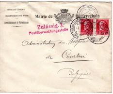 1918 Van France Naar Kortrijk - Other