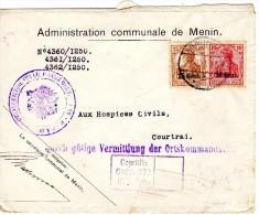 Van Menin Naar Kortrijk 1917 - Other