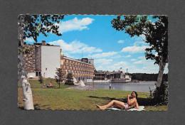 VILLE ESTEREL - QUÉBEC - L' ESTEREL HÔTEL DE VILLÉGIATURE SITUÉ SUR LES BORDS DU LAC DUPUIS - PAR LUCIEN BONNET - Quebec
