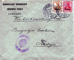 Van Lokeren Naar Kortrijk 1917 - Other