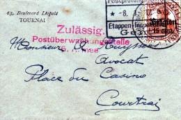 Van Tournai Naar Kortrijk 1917 - [OC26/37] Staging Zone