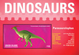 UNION IS. OF S.V  IGPC # 1422 S ; MINT N H STAMPS OF DINOSAURS - St.Vincent & Grenadines