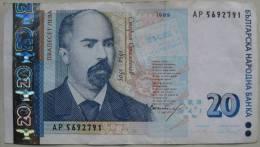 20 Leva 1999 (WPM 118) - Bulgaria