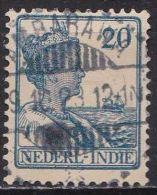Ned. Indië: AMBARAWA Op 1913-32 Koningin Wilhelmina 20 Cent Blauw NVPH 121 - Indes Néerlandaises