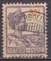 Ned. Indië: POERBOLINO Op 1913-32 Koningin Wilhelmina 32½  Cent Oranje / Violet NVPH 126 - Indes Néerlandaises