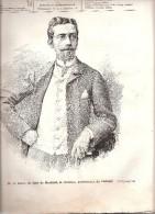 L\\´Illustration Européenne-1893-*Baron (Raoul) Du Sart De Bouland,Gouverneur Du Hainaut-Belles Gravures -16p Voir Scan - Riviste - Ante 1900