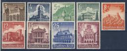 Deutsches Reich Michel No. 751 - 759 ** postfrisch MNH