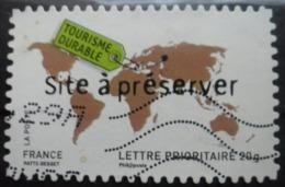 France Autoadhésif  N°185 PROTECTION De L'ENVIRONNEMENT Oblitéré - Environment & Climate Protection