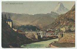 Zermatt (Suisse) Le Pont - Le Cervin - VS Valais