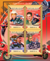 GUINEA 2015 - Legendary Motorcycles. Official Issue - Motorbikes
