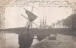 CPA Pont L´Abbé - Le Bas Port - La Rivière - Pont L'Abbe