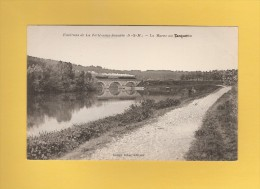 * CPA..dépt 77..TANQUEUX  :  La Marne..Scan B ( Environs De La Ferté Sous Jouarre )    : Voir Les 2 Scans - Autres Communes