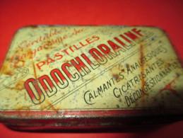 Boite Métallique à Pastilles/ODOCHLORALINE/Laboratoires BOURILLOT/Dijon//vers 1930-1940    BFPP37 - Boîtes