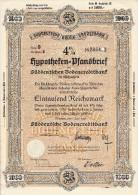 Süddeutsche Bodencreditbank.  Hypotheken - Pfandbrief. - Bank & Insurance