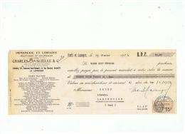 IMPRIMERIE ET LIBRAIRIE MILITAIRES ET COLONIALES  CHARLES LAVAUZELLE & Cie  1934 - Imprimerie & Papeterie
