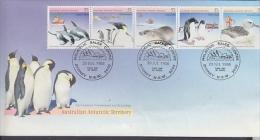AAT 1988 Environment Strip 5v FDC Ca Sydney 20 Jul 1988 (F3165) - FDC