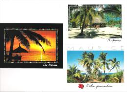 Mauritius - Ile Maurice - 3 Cards - Mauritius