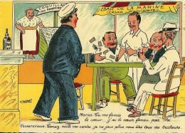 HUMOUR MARSEILLAIS  13 LA PARTIE DE CARTES  EDIT. TARDY  ILLUSTRATEUR CASTEL - Humour