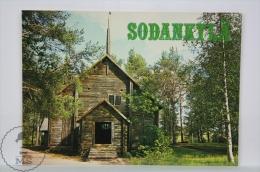 Vintage Finland Postcard - Sodankylä - Finlandia