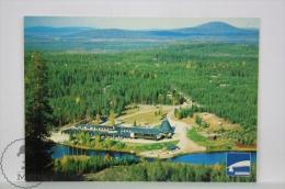 Vintage Finland Postcard - Hotel Suommu Arctic Circle - Finlandia