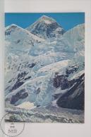 Mount Everest Postcard - 29,028 Ft. Mountain - Nepal - Nepal
