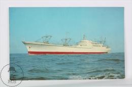Boat/ Ship Topic Postcard - Nuclear Ship Savannah - Otros